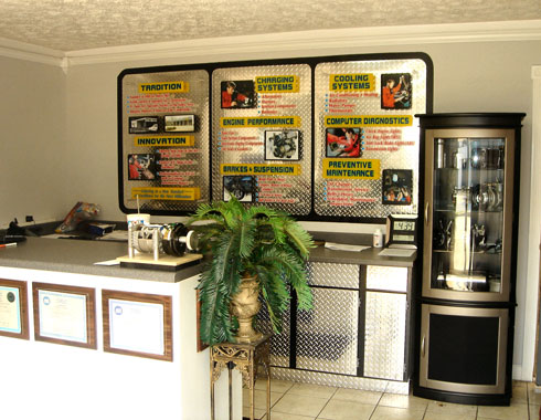 Front Office - Cool Car Auto Air - Automotive AC Repair